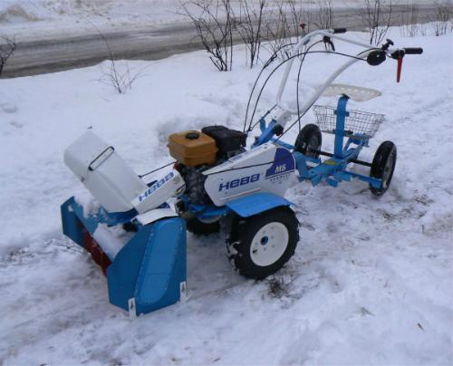Насадка снегоуборочная на мотоблок своими руками